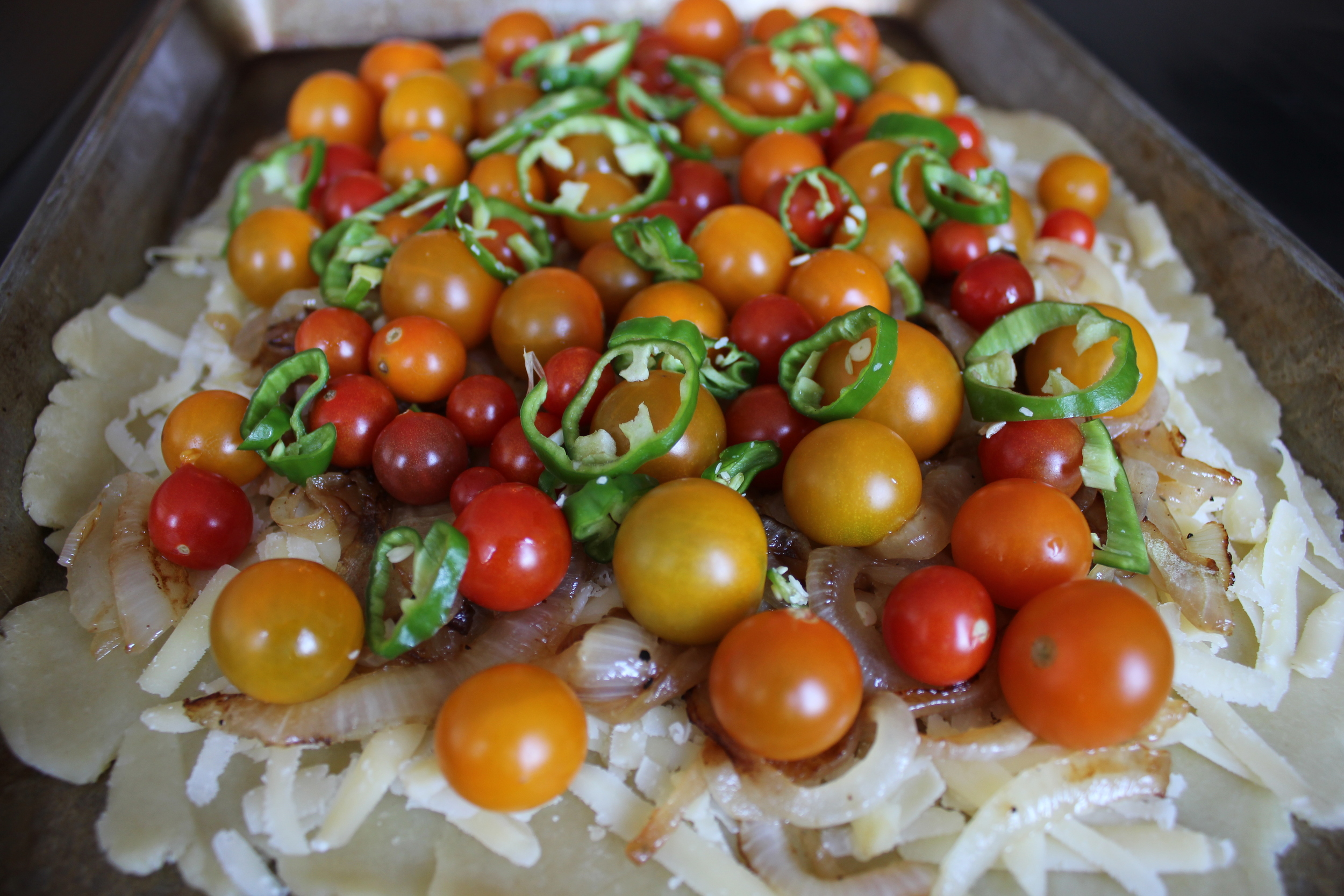 Cherry Tomato Tart - FancyCasual