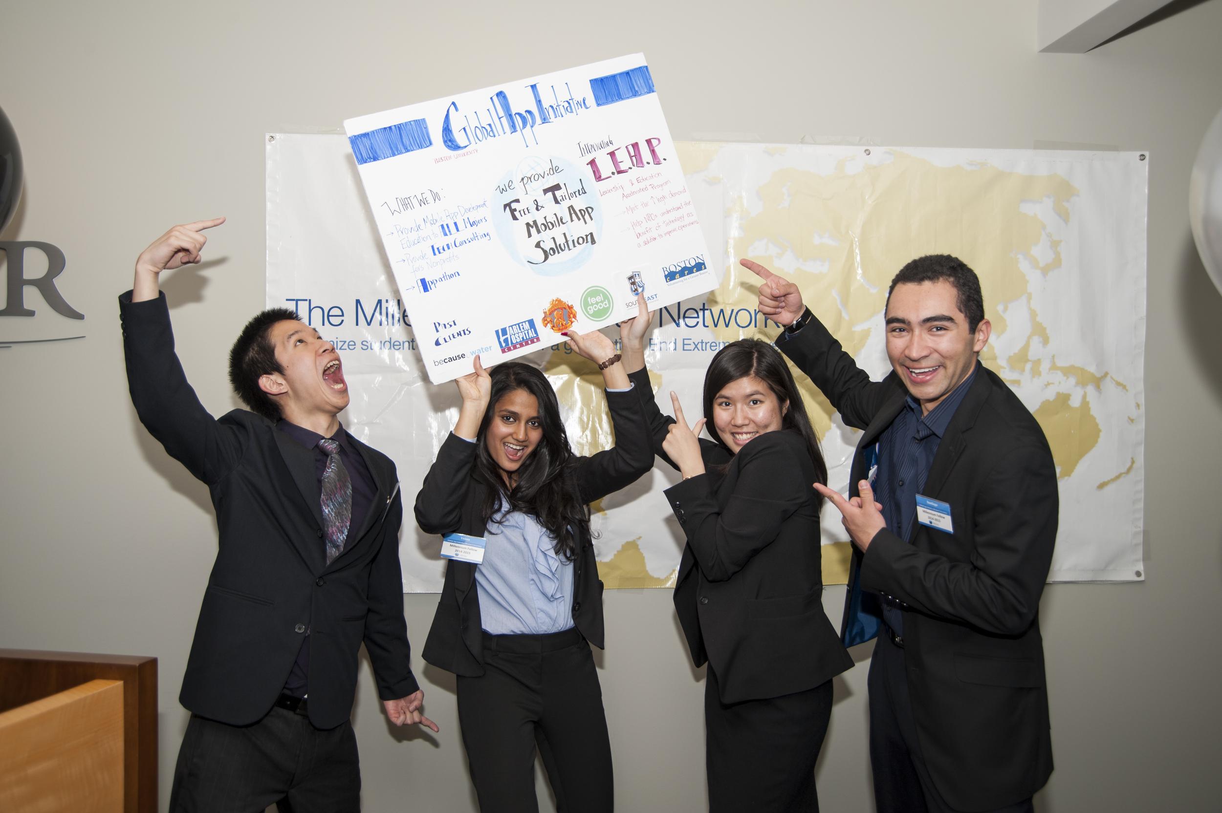 Fellowship organization Global App Initiative  celebrates a successyear of hard work!
