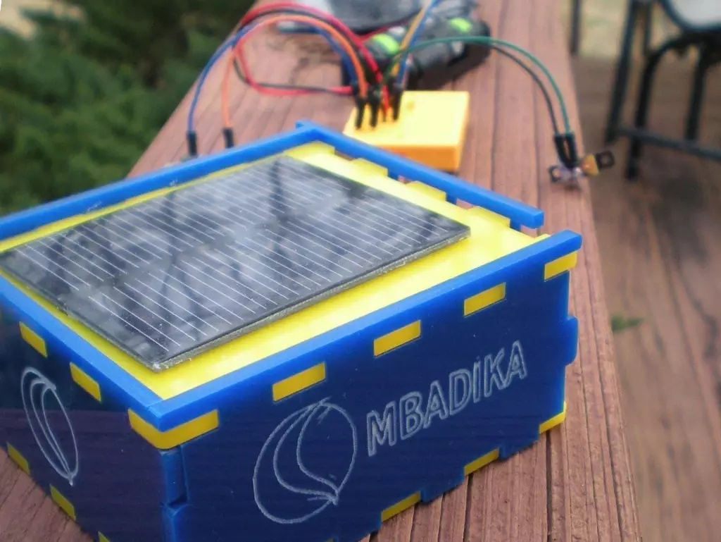 The Mbadika DIY Solar USB Charger Kit for Mobile Devices