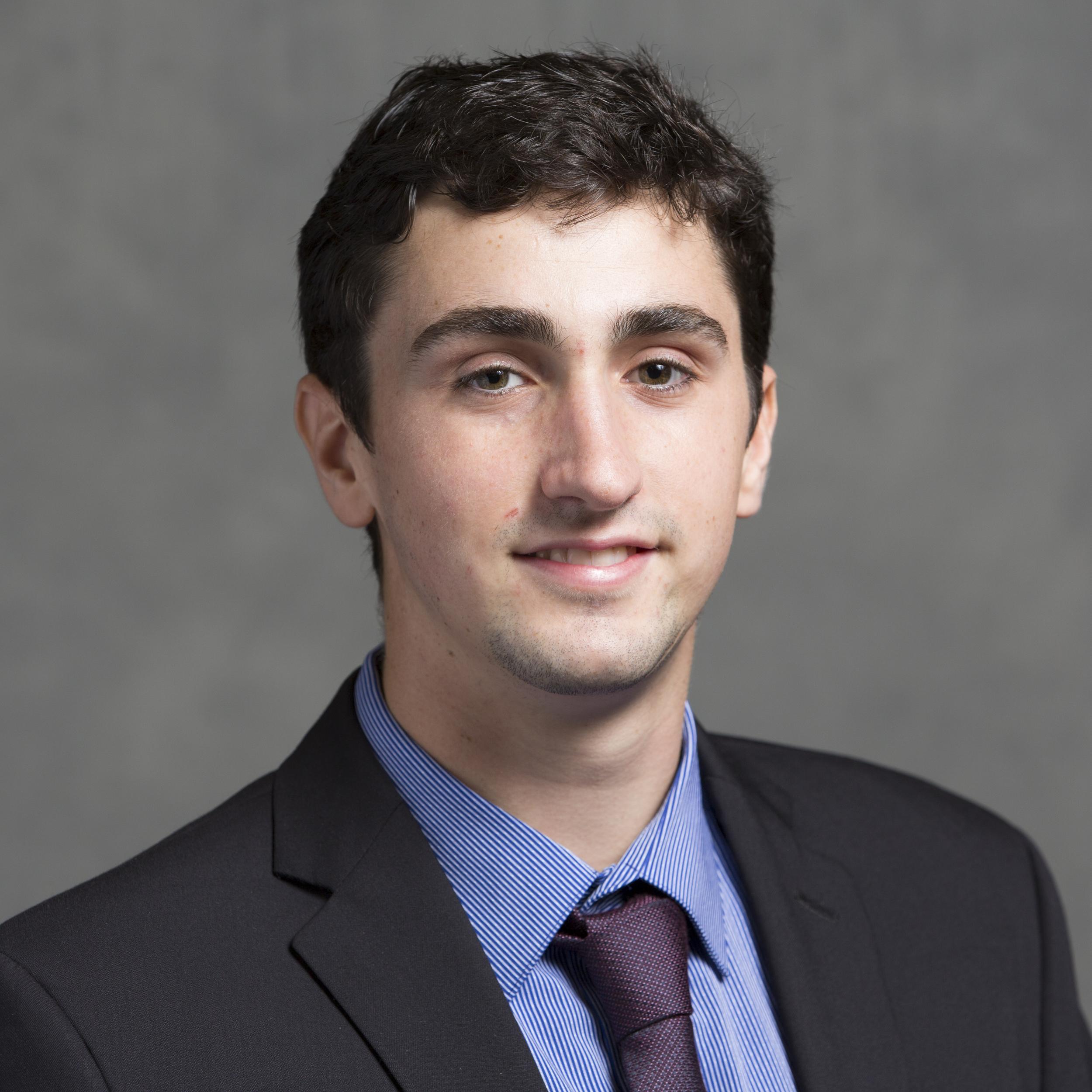 09/30/2015 - Medford/Somerville, Mass. - Career Services Linkedin headshot at the career fair on September 29, 2015. (Evan Sayles for Tufts University)