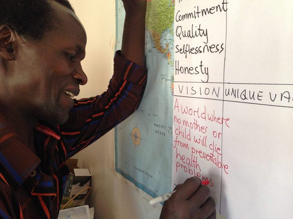 Bernard Mukisa, the founder of Suubi, describes his vision