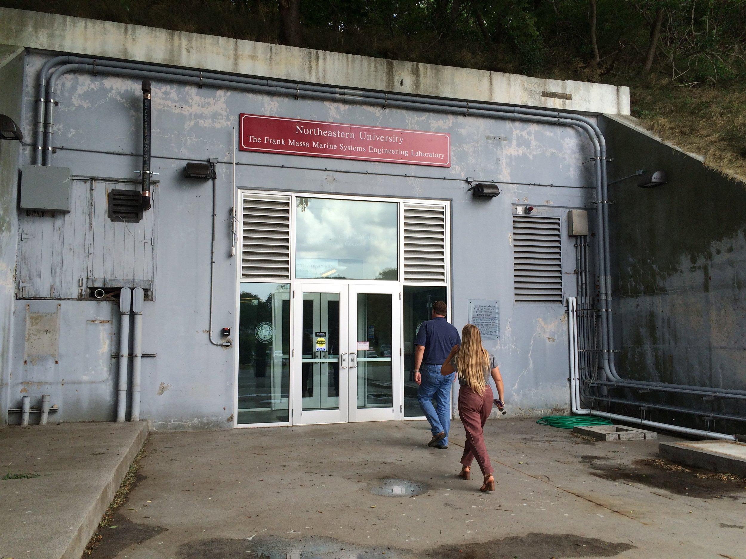 World War 2 bunker repurposed into a laboratory