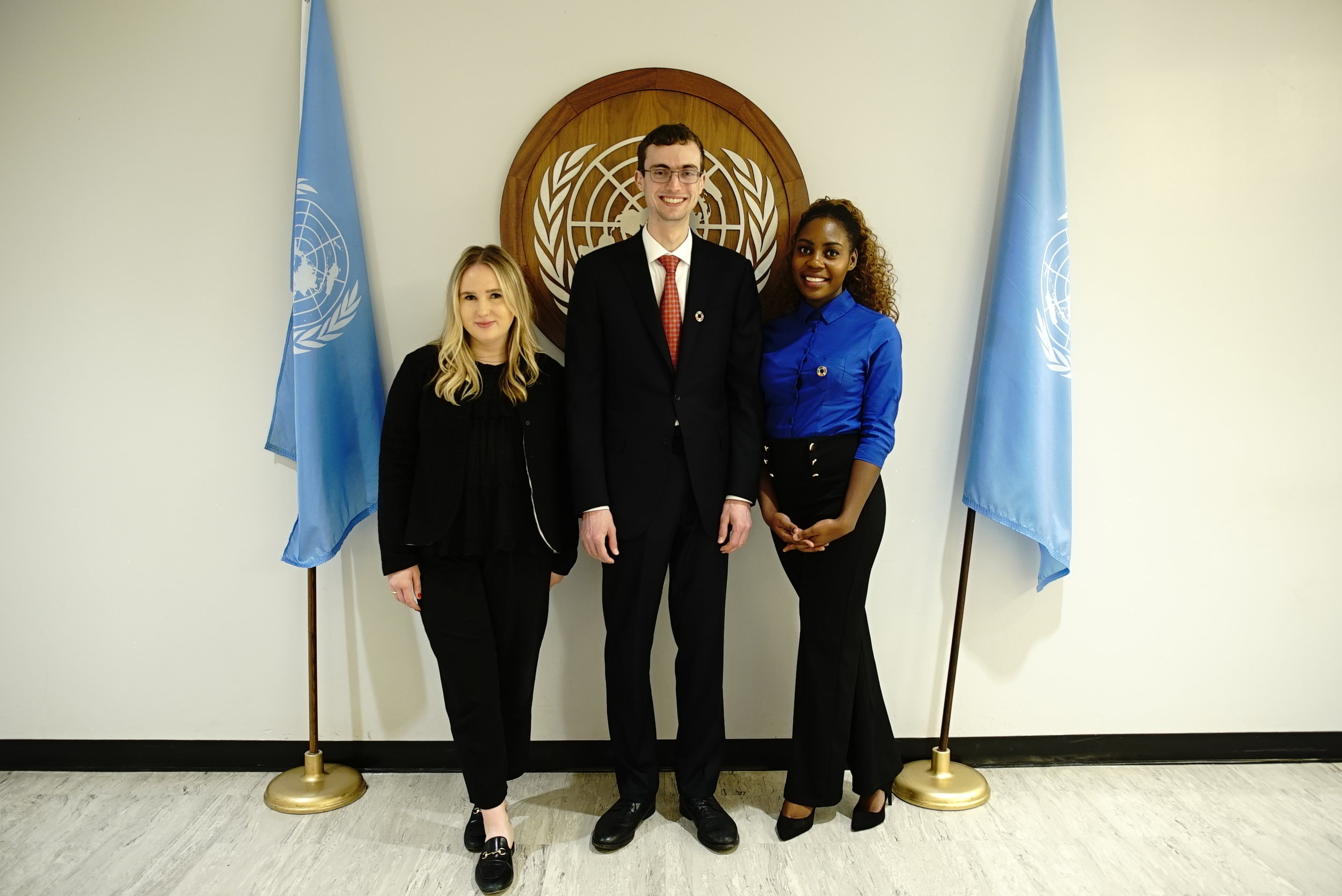 Millennium Fellows at the United Nations