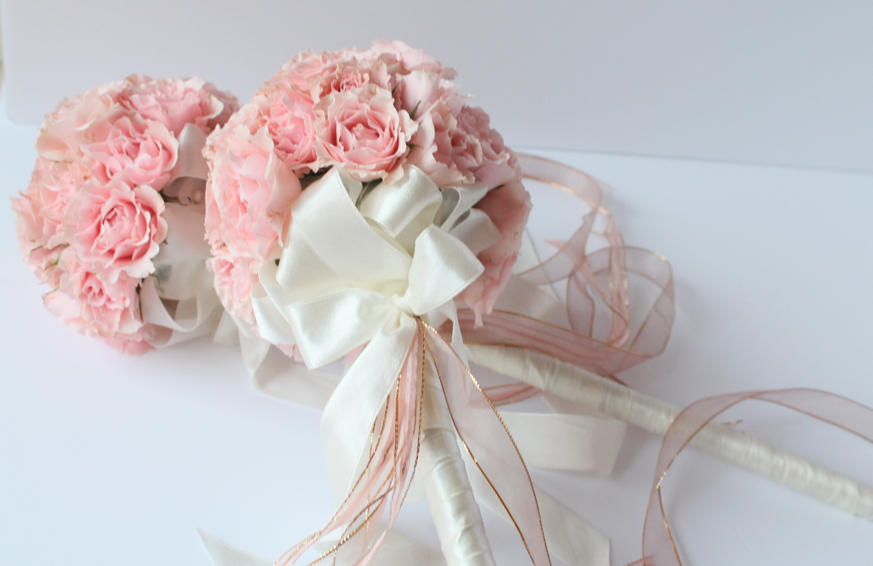 Blush Flower Wand