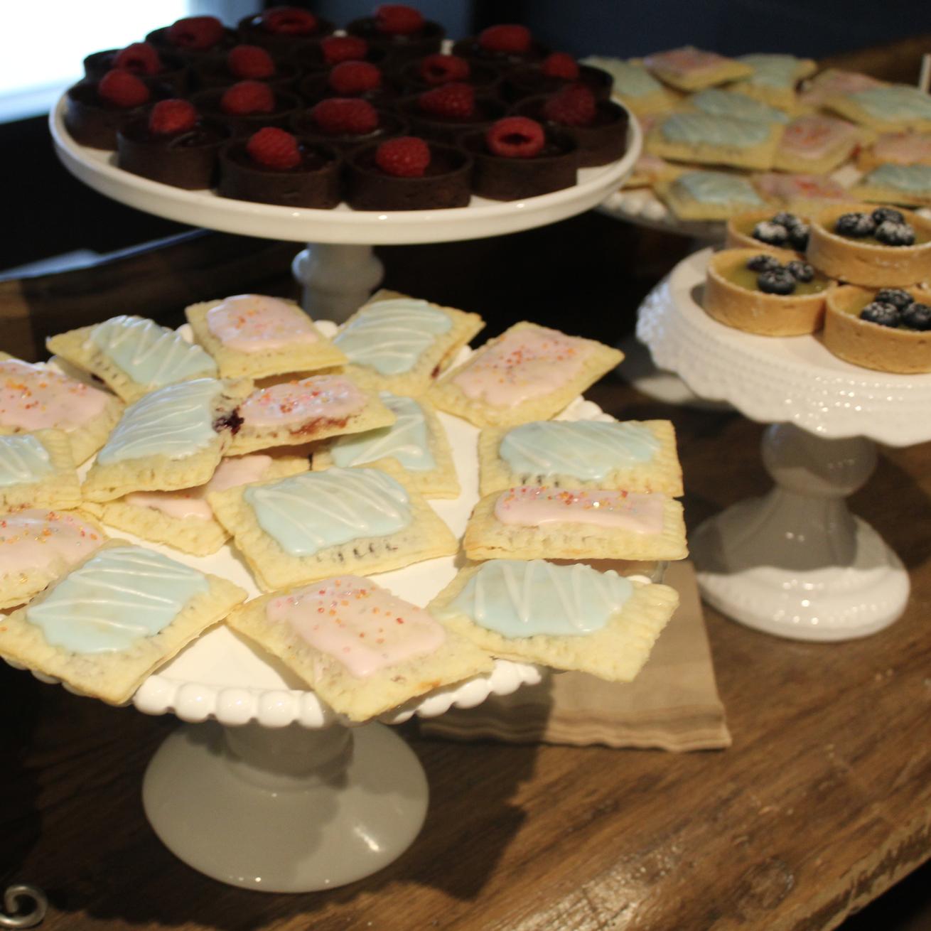Gorgeous mini pop tarts!
