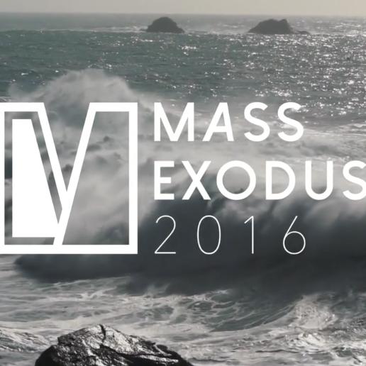 Photo: Mass Exodus