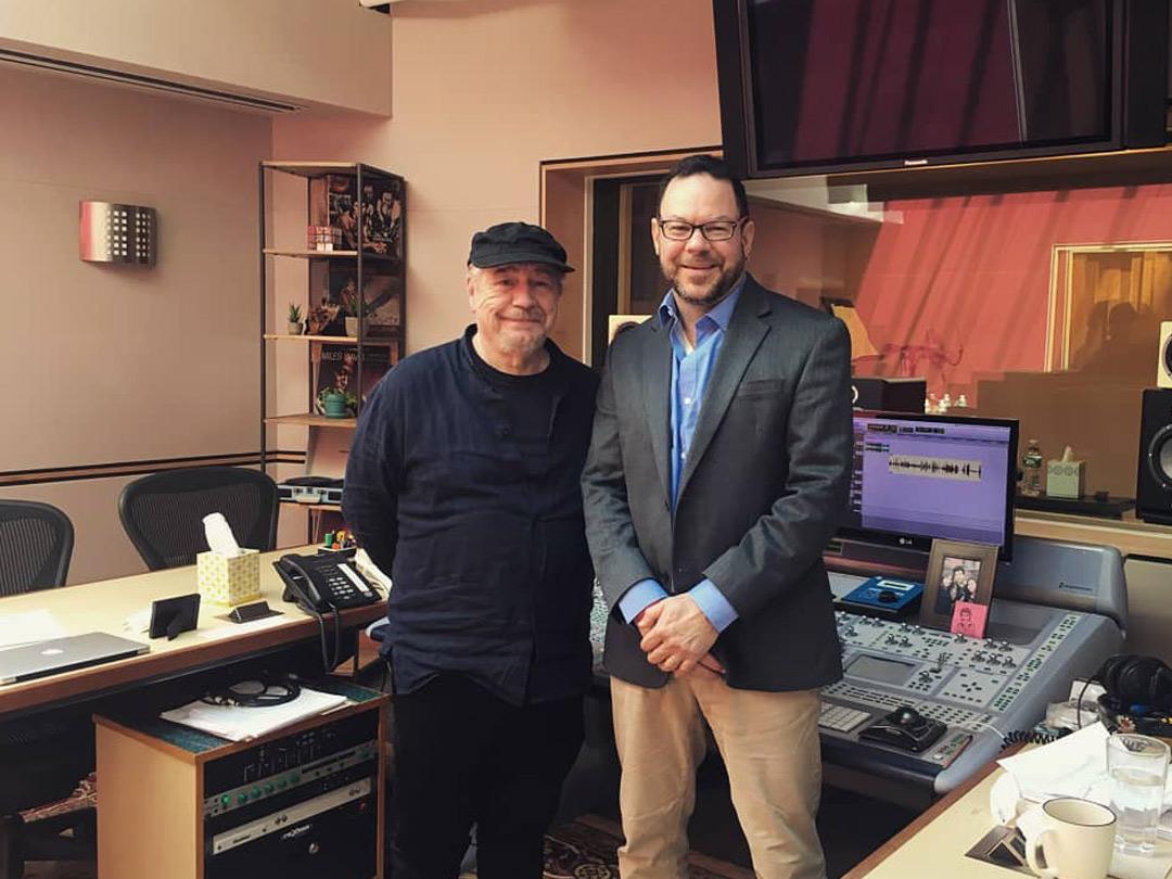 Brian Cox with Bob
