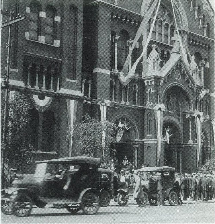 First Mass: May 31st, 1918