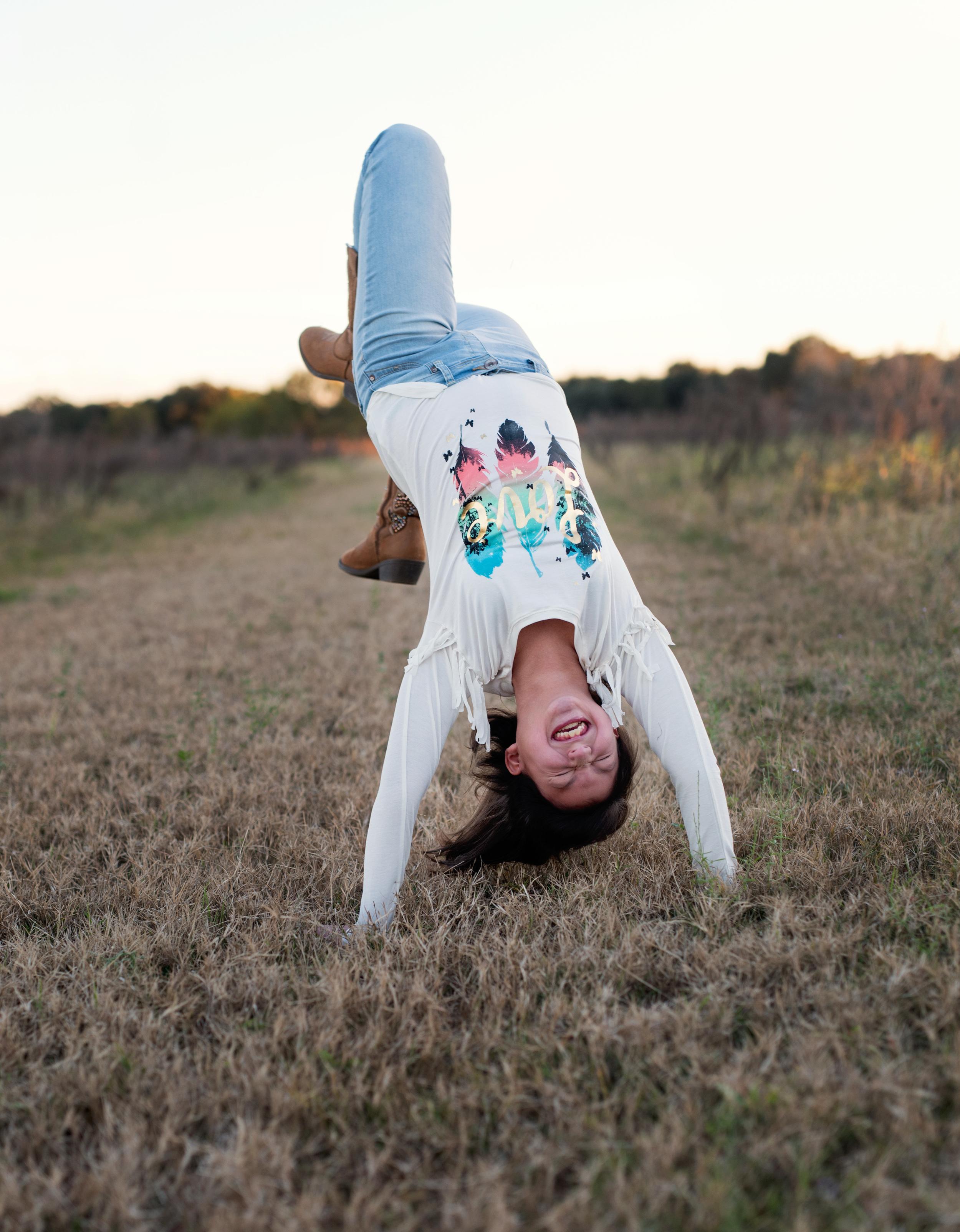 12 year old photos portraits, fun gymnastics