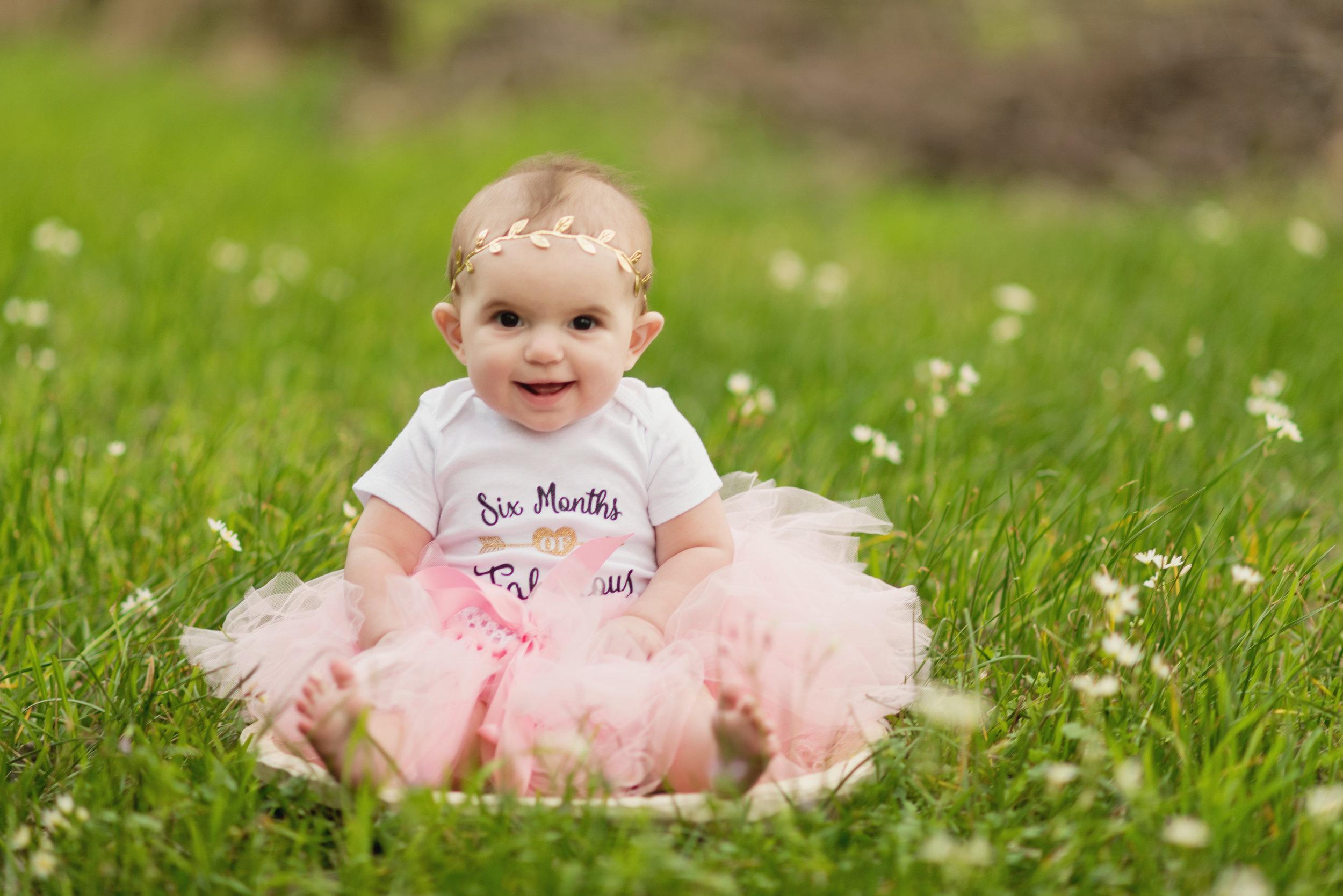 9 month old, flowers, tutu photos