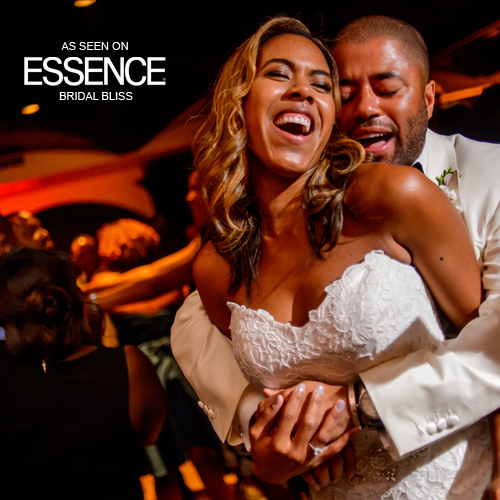 Sometimes a vacation with friends can lead to happily ever after.    Click the photo to see our feature on  Essence Magazine .