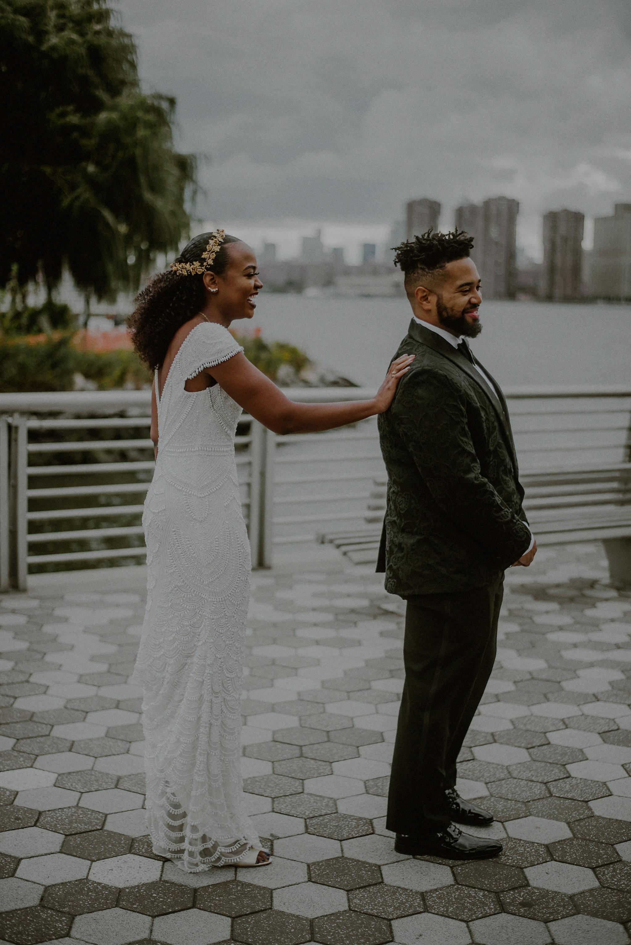 Victorious Events NYC | Arielle & John | The Metropolitan Building - Long Island City | © Carolina Rivera Photography