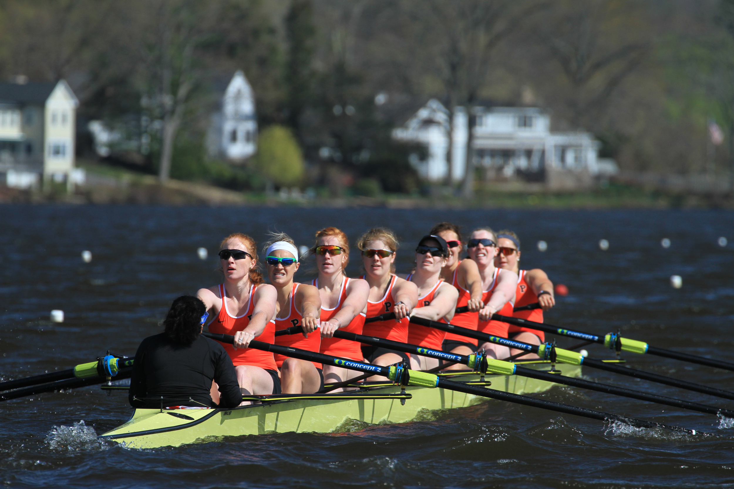 The openweight women's 1V competes for the Eisenberg Cup