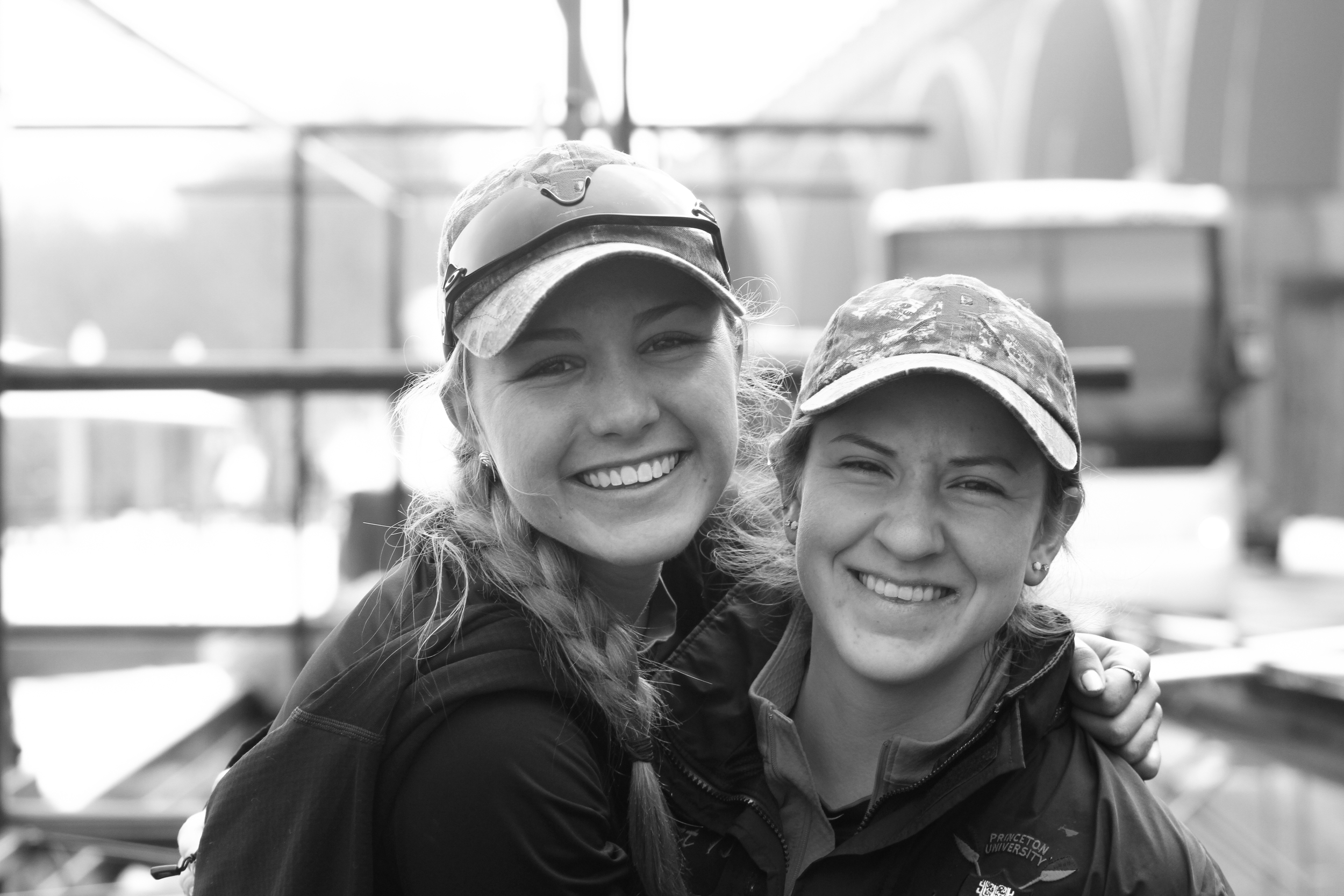Christina Warren '17 and Juliette Hackett '17 - best of friends.