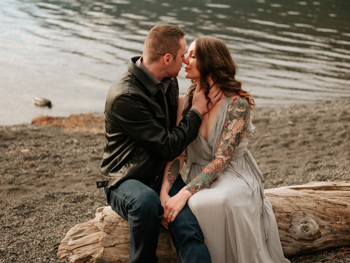 Stolen Glimpses Seattle Wedding Photographer Lake Crescent Engagement Session 24.jpg