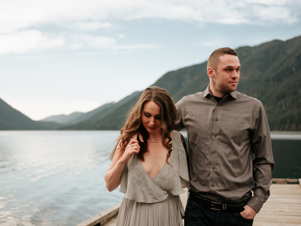 Stolen Glimpses Seattle Wedding Photographer Lake Crescent Engagement Session 46.jpg