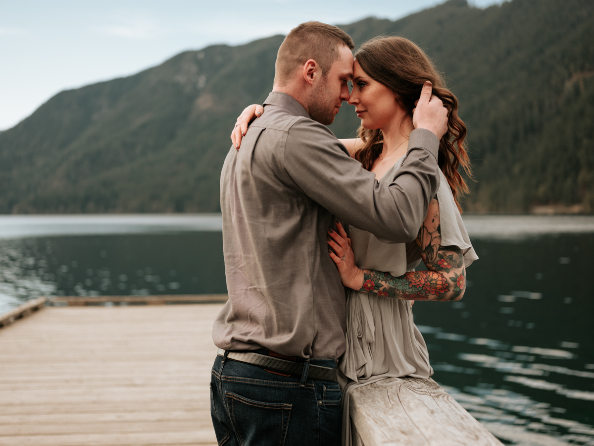 Stolen Glimpses Seattle Wedding Photographer Lake Crescent Engagement Session 47.jpg