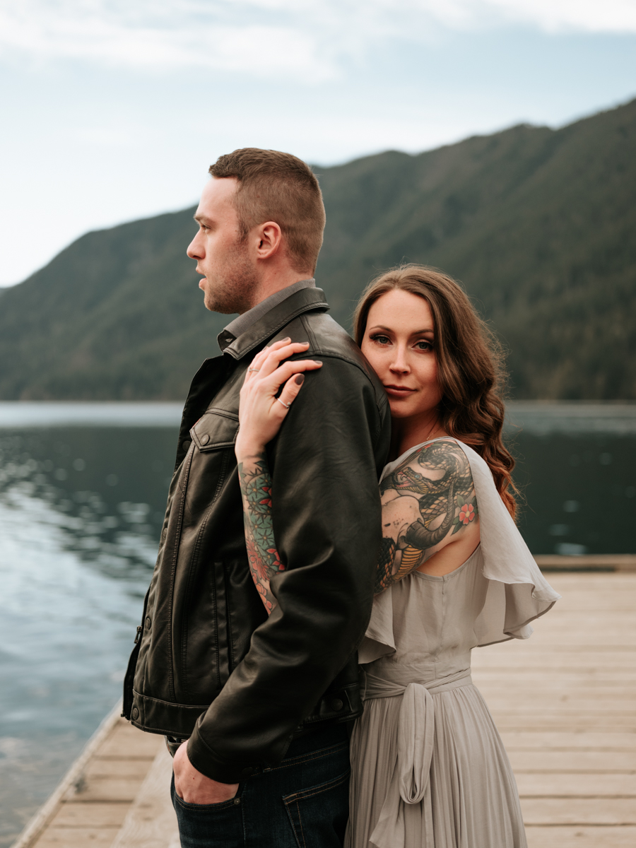 Stolen Glimpses Seattle Wedding Photographer Lake Crescent Engagement Session 49.jpg