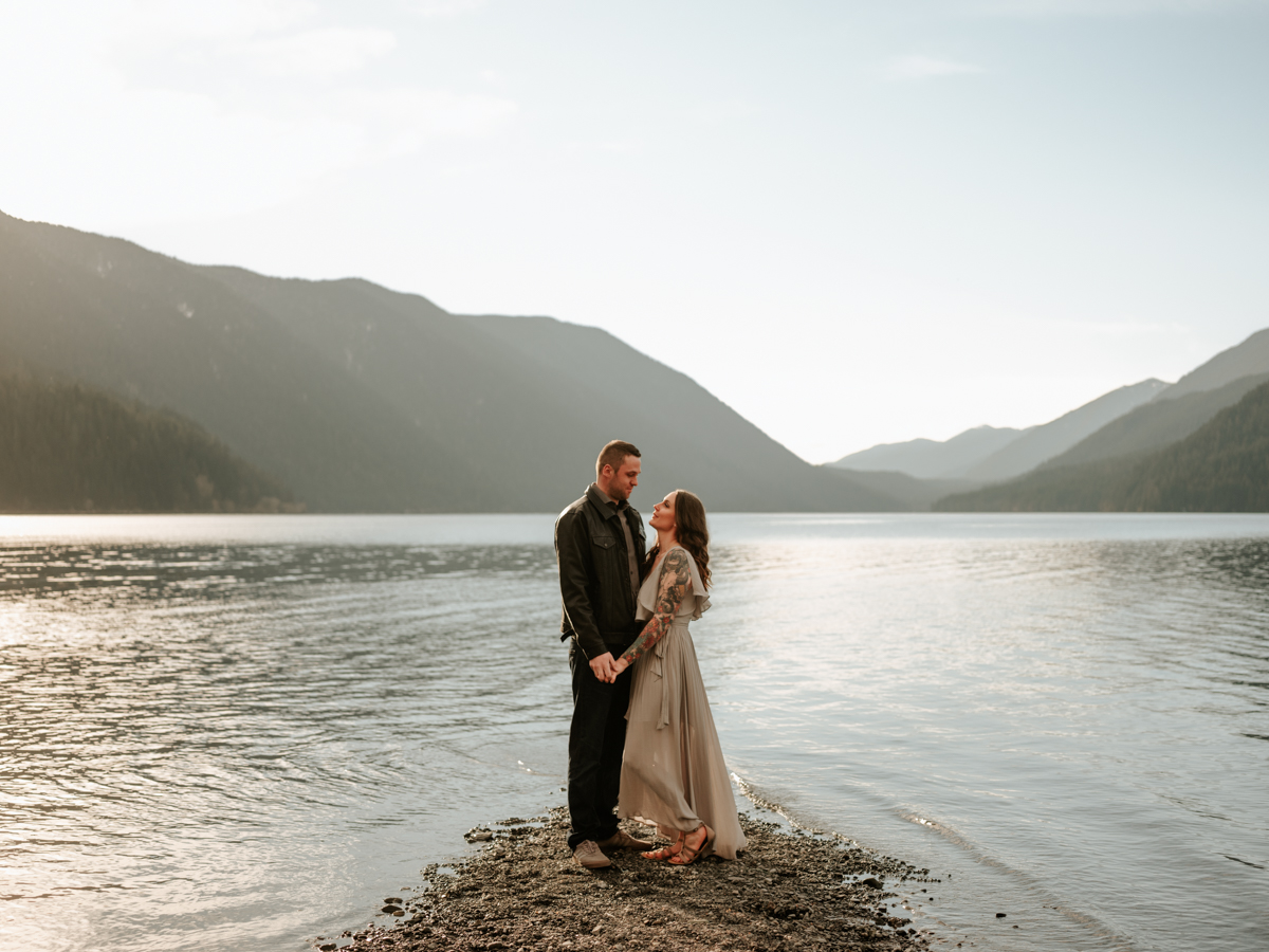 Stolen Glimpses Seattle Wedding Photographer Lake Crescent Engagement Session 53.jpg