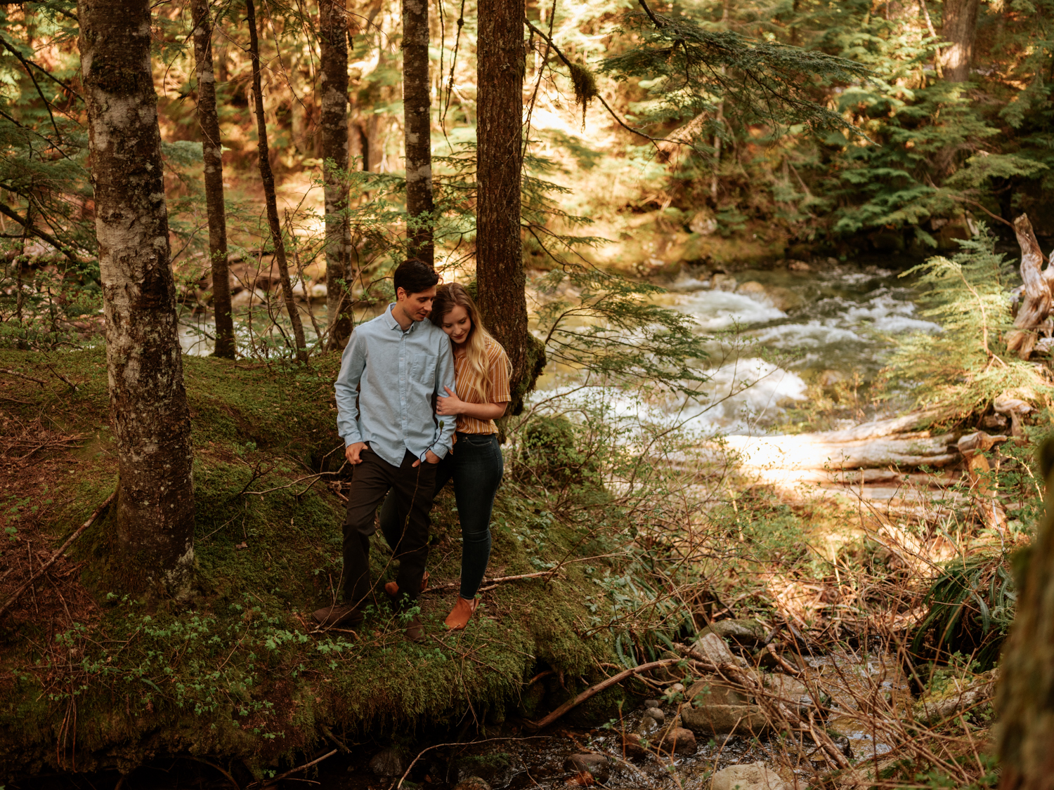 Franklin Falls Washington Engagement Session Stolen Glimpses Seattle Wedding Photographer 11.jpg