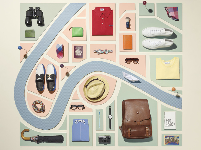 Sarah Parker's 'Vacation Style' for Mr. Porter