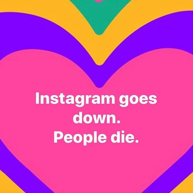Don't die dammit! . . . #truth #silly #nomoremodelingcar #instagramgoesdownpeopledie #dontdie #friday #gooutside #love #live
