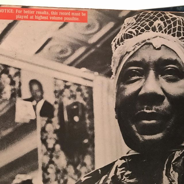 Hump Day grooves from the man himself, Mr Muddy Waters.  Do what the directions say and TURN IT UP! . . . #muddywaters #blues #psych #rock #breaks #tomcat #sample #cypresshill #hiphop #beats #breaks #chicago #classic