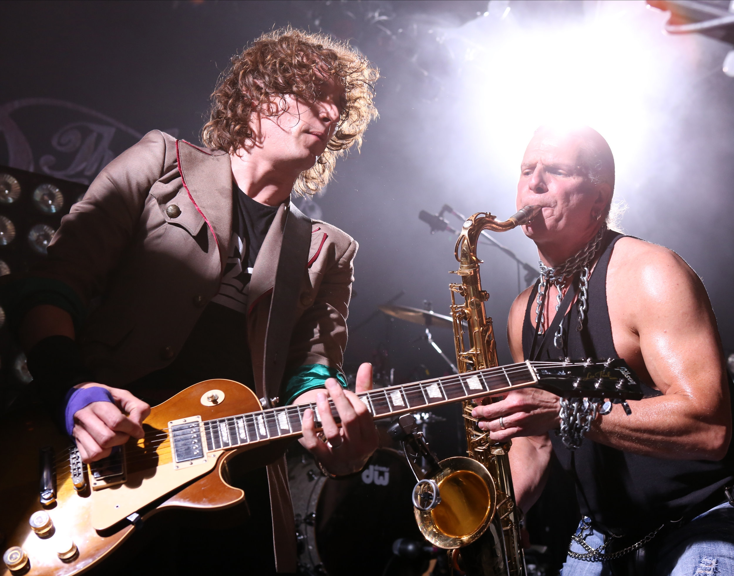 Dan Hawkins and Timmy Cappello