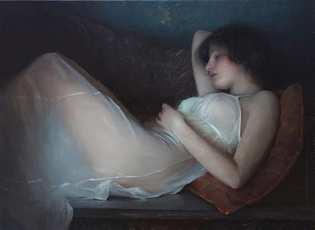 Art by Jeremy Lipking |  lipking.com