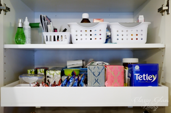 DIY pullout pantry shelves | Classy Glam Living
