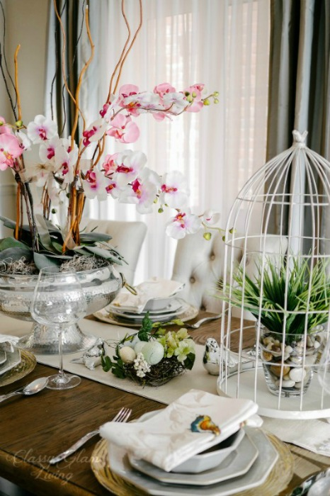 Spring Easter Dining Table Setting | Coffee Theory of Tablescapes | Classy Glam Living