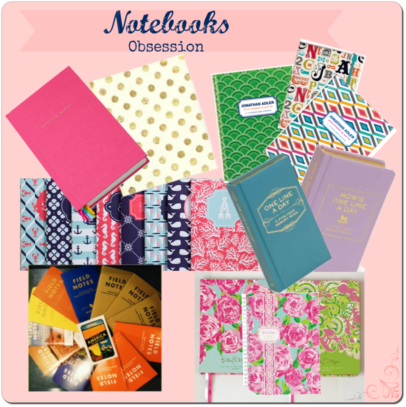 Notebooks! | Classy Glam Living