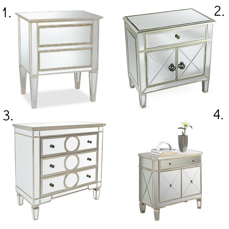 New Bedside Table | Classy Glam Living