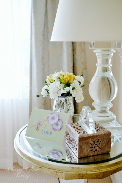 Bedside Table Styling Guidelines | Classy Glam Living
