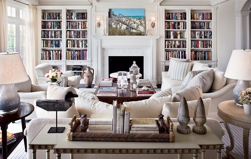 Console Table Behind Sofa | Classy Glam Living