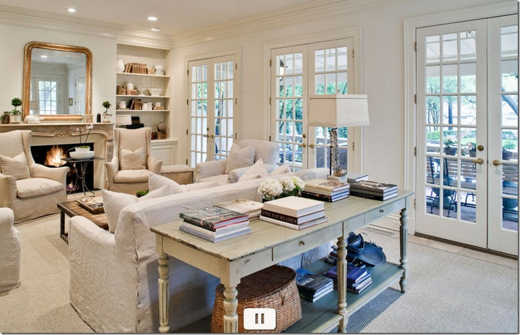 Console Table Behind Sofa | Family Room Furniture Placement | Classy Glam Living