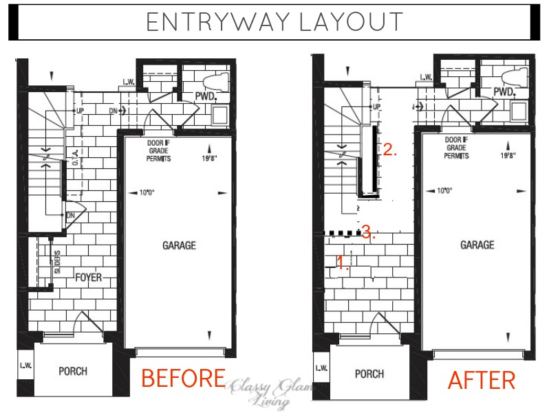 Layout changes | Classy Glam Living