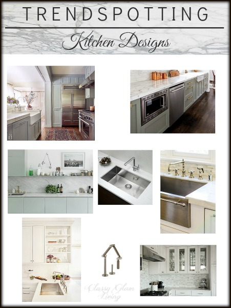 Trendspotting - Kitchen Designs | New Trends | Classy Glam Living