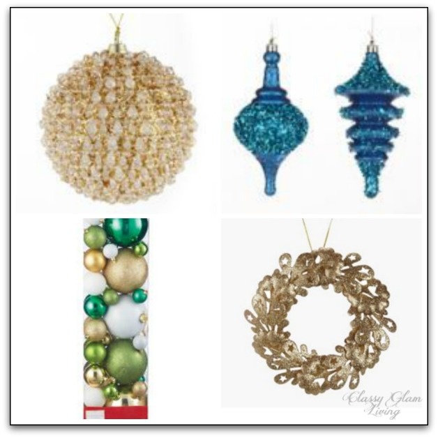 Novelty Ornaments from Canadian Tire CANVAS line | Classy Glam Living