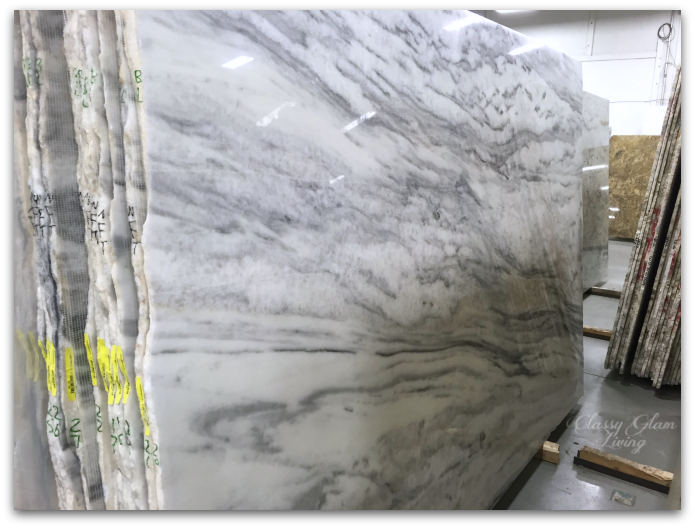 NEW SUPERWHITE QUARTZITE | Classy Glam Living