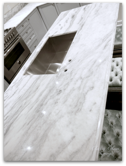 NEW SUPERWHITE quartzite kitchen counter | New house kitchen | Classy Glam Living