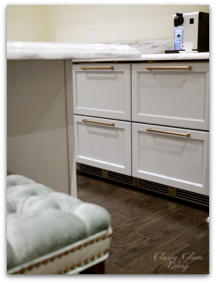 Panel-ready undercounter fridge and freezer | New house kitchen | Classy Glam Living