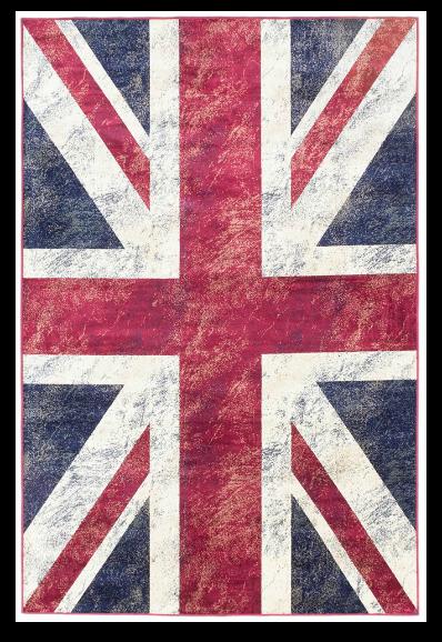 Union Jack rug by Ecarpet Gallery