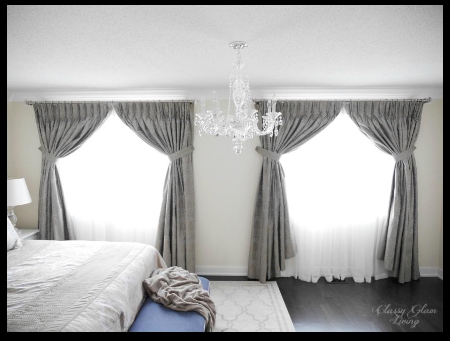 Master bedroom chandelier | Schonbek 2995 | Classy Glam Living