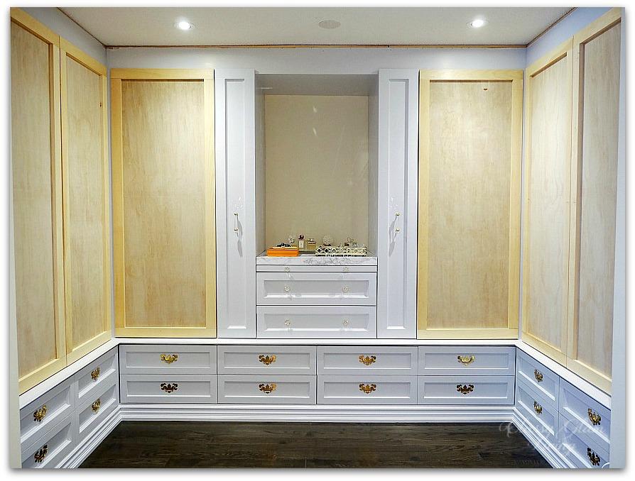 DIY Custom Closet Dressing Room | Classy Glam Living