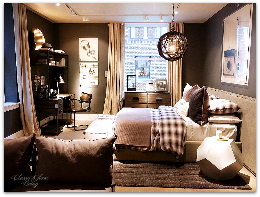 Restoration Hardware Chicago - Gallery + 3 Arts Club Cafe | Teen boy room | Classy Glam Living