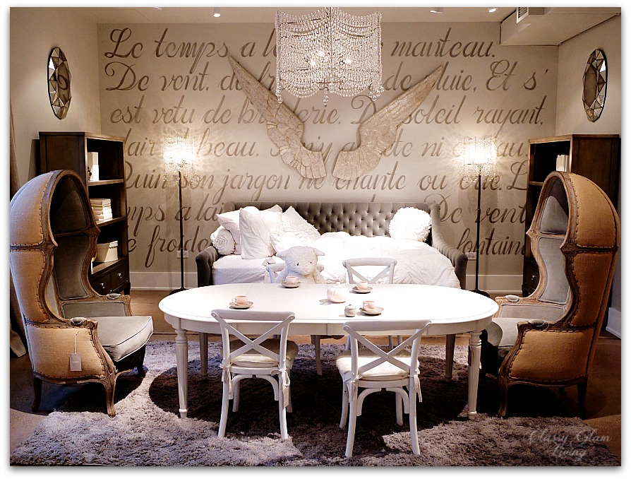 Restoration Hardware Chicago - Gallery + 3 Arts Club Cafe | Girl Room | Classy Glam Living