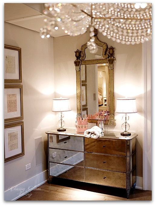 Restoration Hardware Chicago - Gallery + 3 Arts Club Cafe | Teen girl room, mirror dresser | Classy Glam Living