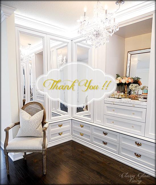 DIY Custom Closet Dressing Room   Classy Glam Living