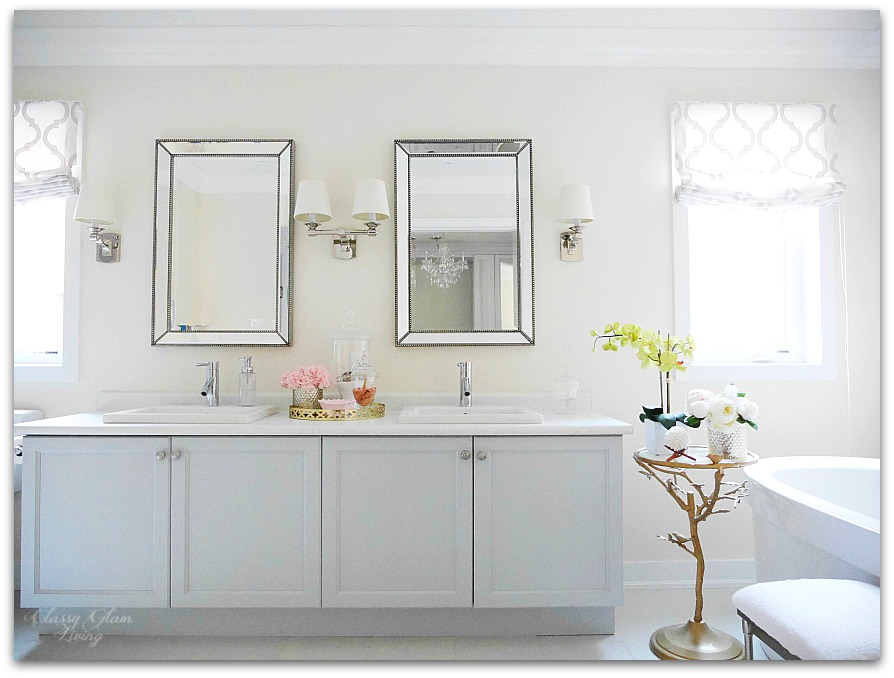 New House Master Ensuite Bathroom Design Plan | Classy Glam Living